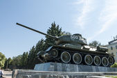 T34 танк второй мировой войны — Стоковое фото