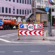 Repair street road - Stockfoto