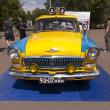 Old USSR Soviet police car - Zdjcie stockowe