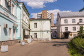 Old streets of central Moscow — Stock Photo