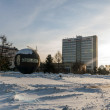 Omsk in Siberia in winter — Stockfoto