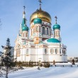 Stock Photo: Main Cathedral in Omsk winter