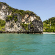 The beach and cliffs in Krabi province, Thailand — Stock Photo