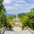 Statue of the Buddhist Goddess of Mercy Temple of Thailand — Stock Photo