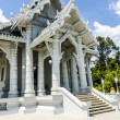 Stock Photo: Buddhist temple white dragon in Krabi Thailand