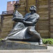 Monument to the first Russian tsar to Yaroslav the Wise in Kiev — Stock Photo