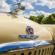 Vintage RussiSoviet retro passenger legendary car on streets of Moscow — ストック写真 #36201909