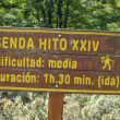 Stock Photo: Signpost, Argentina