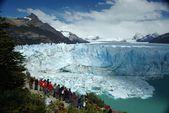 Perito moreno buzulu, arjantin — Stok fotoğraf