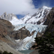 Stock Photo: Glacier in Patagonia