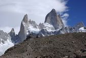 Mount Fitz Roy, Argentina — Stock Photo