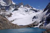 Lago de la patagonia — Foto de Stock