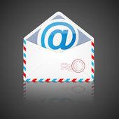 Open envelope with email. — Vecteur