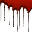Dripping blood — Stock Photo #14583949
