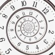 Abstract clock to infinity — Stock Photo #14584365
