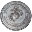 US Marine Corps commemorative plaque in Washington DC — Stock Photo