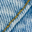 Seams on denim texture — Stock Photo #14585449
