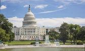 国会大厦在华盛顿特区 — 图库照片