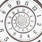 Relógio abstrato para o infinito — Foto Stock