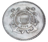 US Navy commemorative plaque in Washington DC — Stock Photo