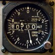 Stockfoto: Aircraft Gauge
