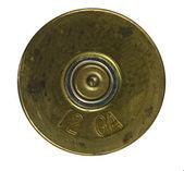 Bullet Shell casing bottom — Stock Photo