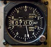 Aircraft Gauge — Stock Photo