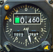 Aircraft Gauge — Stock Photo