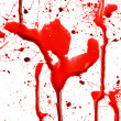 Dripping blood splatters — Foto de Stock