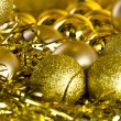 Golden Christmas decorations — Stock Photo #14761103