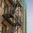 Stock Photo: Fire escape