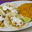 Fish tacos — Stock Photo #14762593