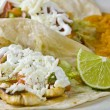 Fish tacos — Stock Photo