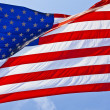 American flag background — Stock Photo #14762741