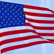 American flag background — Stock Photo #14762753