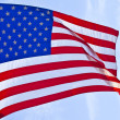 American flag background — Stock Photo #14762781