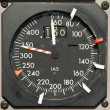 Stock Photo: Speedmeter Isolated
