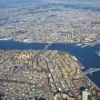 panorama de la ciudad de nueva york — Foto de Stock