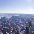 New York City panorama — ストック写真
