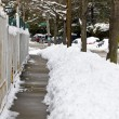 Snow covered streets — Stock Photo #14768091