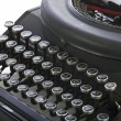 Stock Photo: Vintage portable typewriter