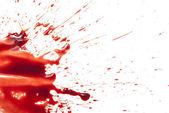 Pingando sangue — Foto Stock