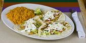 Tacos de peixe — Foto Stock