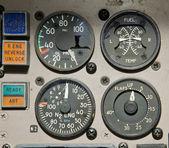 飞机仪表 — 图库照片