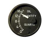 Oil gauge isolated — Stock Photo