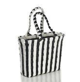 Woman's handbag black and white — Stock Photo