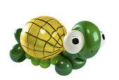 Balloon Animal turtle isolated on white — Stock Photo