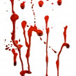 Dripping blood — Stock Photo