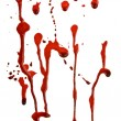 Stock Photo: Dripping blood