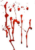 Dripping blood — Stok fotoğraf